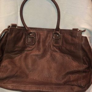 Liebeskind Berlin brown leather tote. New w/ tags